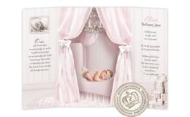 Sprookjes Geboortekaartje GB084 DD Pink