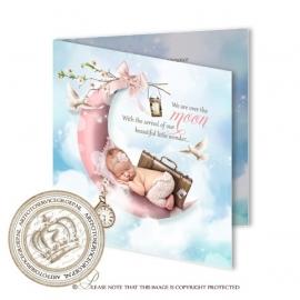 Sprookjes Geboortekaartje GB016 FC2 Pink