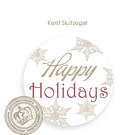 Kerst sluitzegel SK010