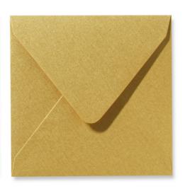 Parelmoer Envelop - goud