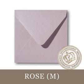 Parelmoer envelop - Rose