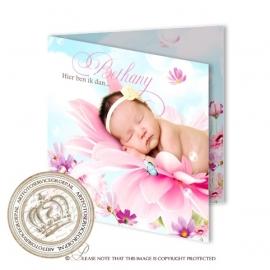 Sprookjes Geboortekaartje GB293 FC2 Pink