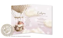 Sprookjes Geboortekaartje GB023 FC2 Pink