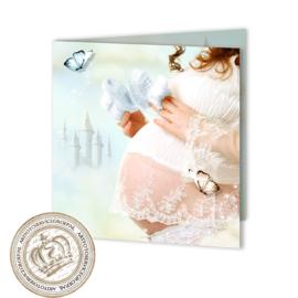 Sprookjes Geboortekaartje GB215 FC2 Blue