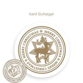 Kerst sluitzegel SK015