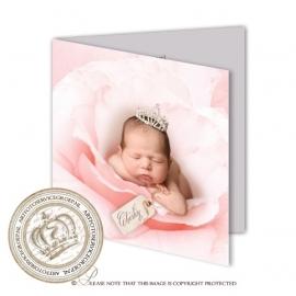 Sprookjes Geboortekaartje GB056 FC2 Pink