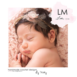 Feather baby tieback LM098