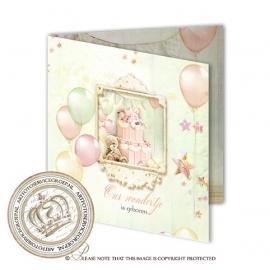 Sprookjes Geboortekaartje GB427 FC2 Pink