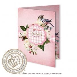 Sprookjes Geboortekaartje GB794 FC2 Pink