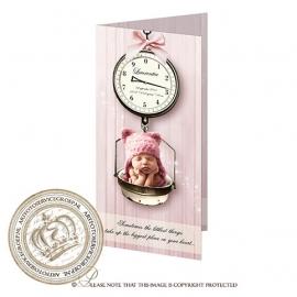 Sprookjes Geboortekaartje GB349FC2 Pink