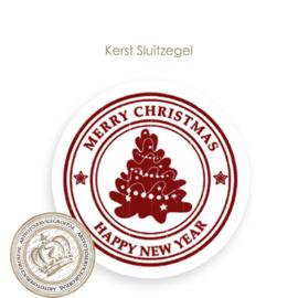Kerst sluitzegel SK018