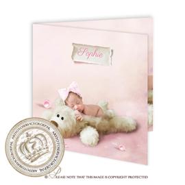 Sprookjes Geboortekaartje GB434 FC2 Pink