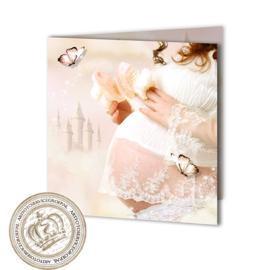 Sprookjes Geboortekaartje GB215 FC2 Pink