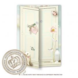 Sprookjes Geboortekaartje GB430 DD Pink
