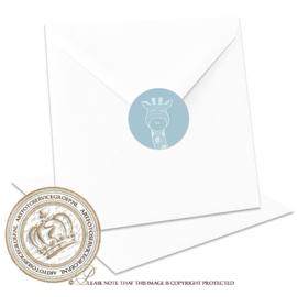 Sluitzegel Geboortekaartje SLZ019
