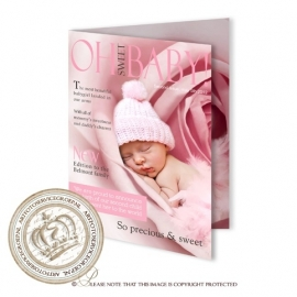 Baby Magazine cover GB386 Pink