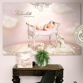 Digitale Droomfoto - Little dreams (Pink)