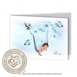 Sprookjes Geboortekaartje GB473 FC2 Blue