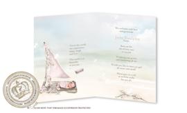 Sprookjes Geboortekaartje GB033 FC2 Pink