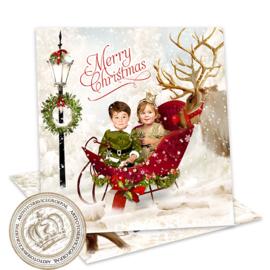 Sprookjes Kerstkaart CA335