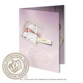 Sprookjes Geboortekaartje GB136 FC2 Pink