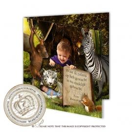 Sprookjes geboortekaartje GB365 FC2