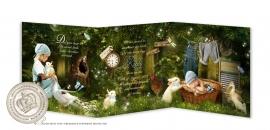 Sprookjes Geboortekaartje GB246 FC3 Blue