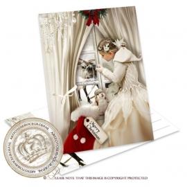 Sprookjes Kerstkaart  met foto CA033
