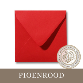Envelop - Pioenrood