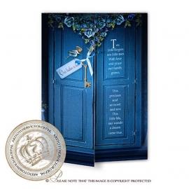 Sprookjes Geboortekaartje GB631 DD Blue