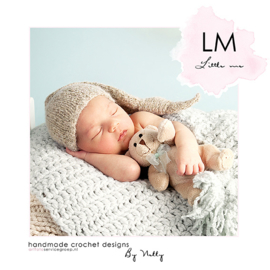 Little twinkly sleep hat LM507