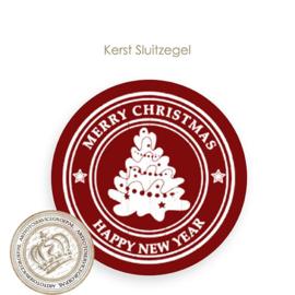 Kerst sluitzegel SK016