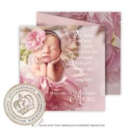 Sprookjes Geboortekaartje GB663 FC3 Pink