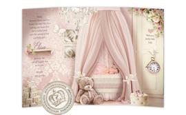 Sprookjes geboortekaartje GB626 DD Pink - B