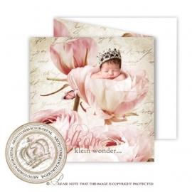 Sprookjes Geboortekaartje GB740 FC3 Pink