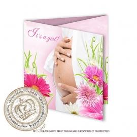 Sprookjes Geboortekaartje GB633 FC3 Pink