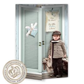 Sprookjesgeboortekaartje GB360 DD Blue