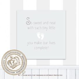 Printable poster - So sweet