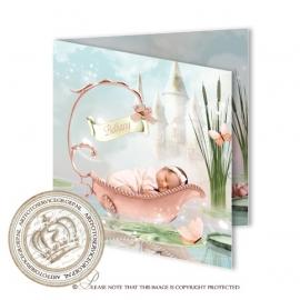 Sprookjes Geboortekaartje GB471 FC2 Pink