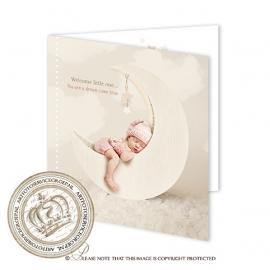 Sprookjes Geboortekaartje GB012 FC2 Pink