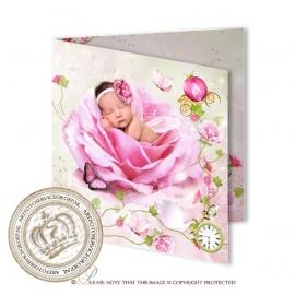 Sprookjes Geboortekaartje GB487FC2 Pink