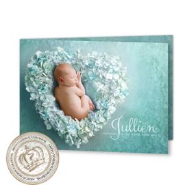 Droom Geboortekaartje GB933 BD2 Blue