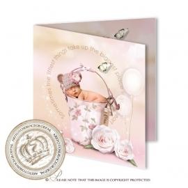 Sprookjes Geboortekaartje GB727 FC2 Pink