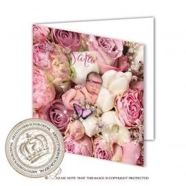Sprookjes Geboortekaartje GB685 FC2 Pink