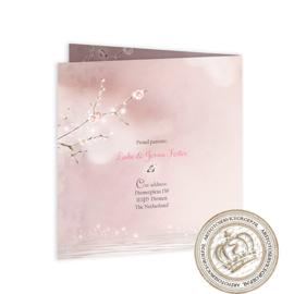Sprookjes Geboortekaartje GB784 FC2 Pink