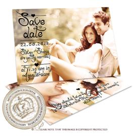 Save the date - Huwelijk  MC675