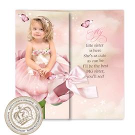 Sprookjes Geboortekaartje GB324DD Pink
