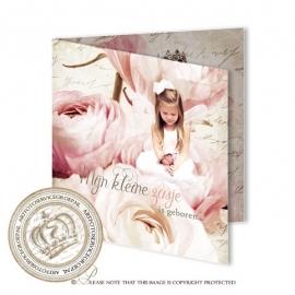 Sprookjes Geboortekaartje GB740 FC2 Pink