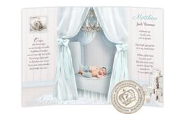 Sprookjes Geboortekaartje GB084 DD Blue