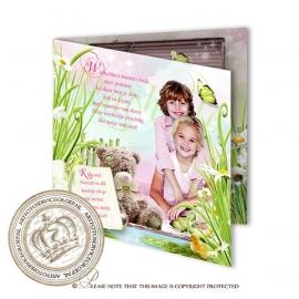 Sprookjes Geboortekaartje GB519 FC2 Pink